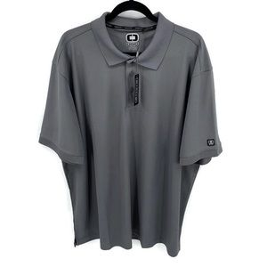 OGIO Charcoal Gray Golf Polo Shirt